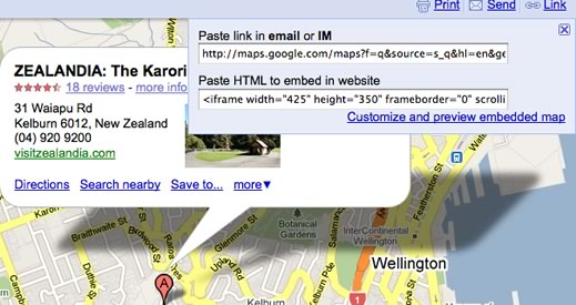 map2 Embedding Google Maps in 2 Easy Steps